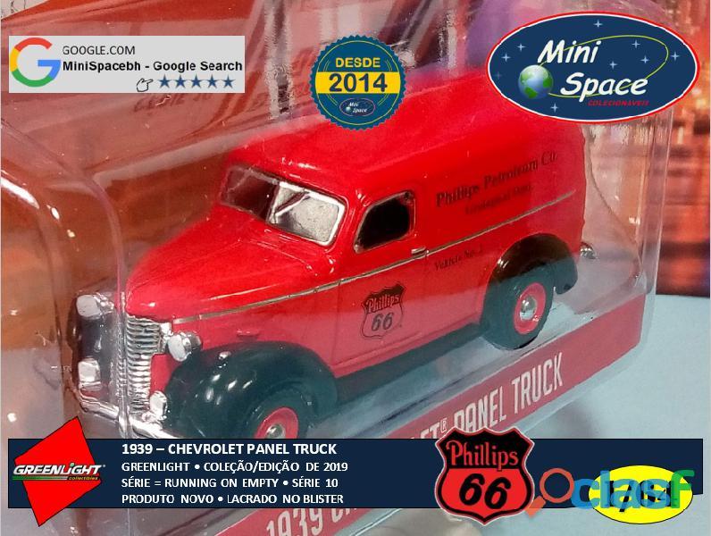Greenlight 1939 Chevrolet Panel Truck logo Phillips 1/64 5