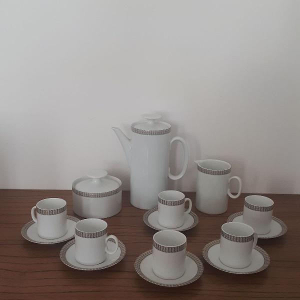 Jogo café porcelana antiguidade
