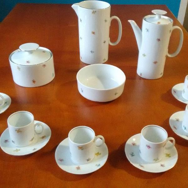 Jogo de café porcelana renner