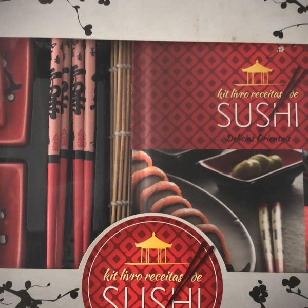 Kit sushi com livro imaginarium