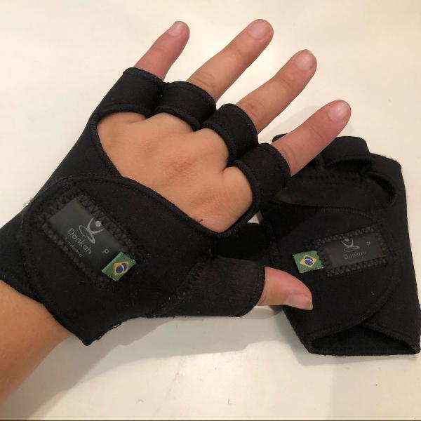 Luvas de proteção para academia p