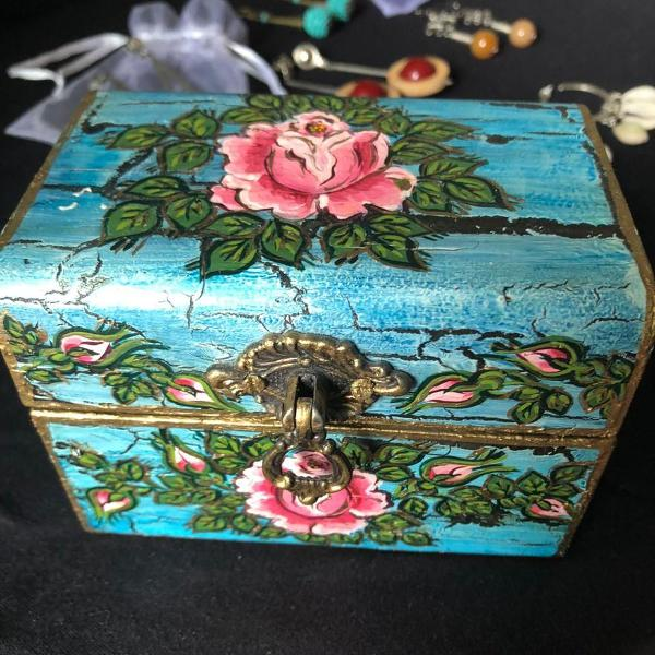 Porta jóias artesanal
