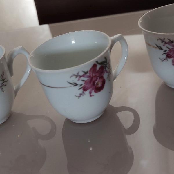 Xícara de café porcelana real