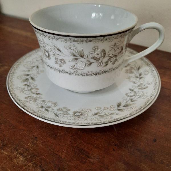 Xicara chá porcelana real são paulo