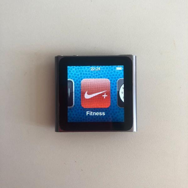 Apple ipod nano 6 geração 8gb mp3 player - nike running