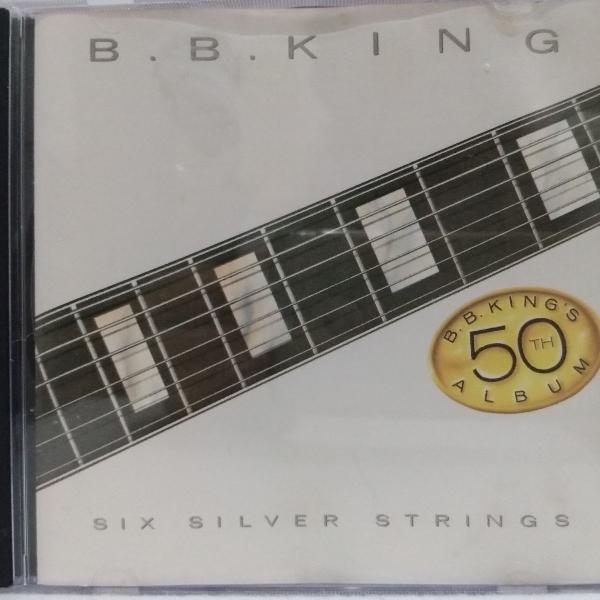 B.b. king six silver strings - cd - usado