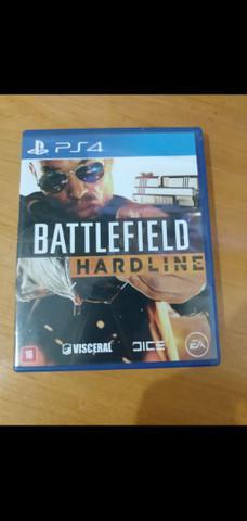 Battlefield hardline ps4 electronic arts mídia física jogo
