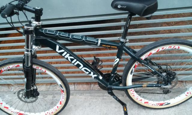 Bike com passador hidráulico shimano