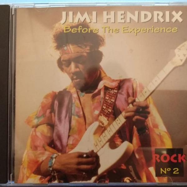 Cd - jimi hendrix - before the experience - 1996