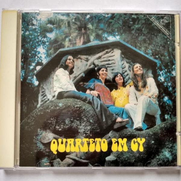 Cd - quarteto em cy - quarteto em cy - odeon 100 anos