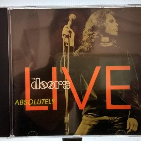 Cd - the doors - absolutely live - excelente