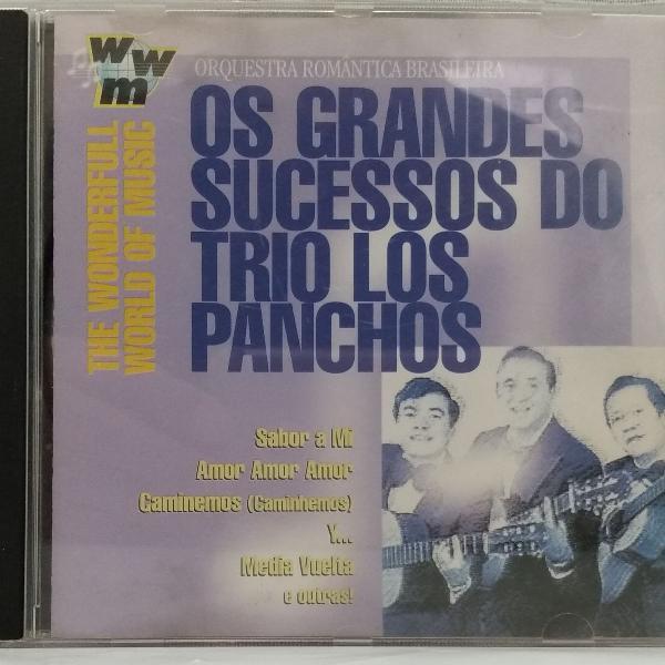 Cd - trio los panchos - os grandes sucessos do trio los