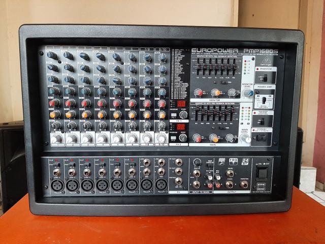 Cabeçote Amplificado Behringer 1680s 1600w RMS