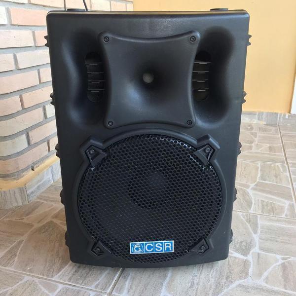 """Caixa de som acústica csr 12"""" 200w rms modelo csr3000a"""