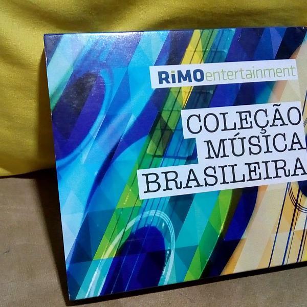 Cd box - coleção musica brasileira - 03 cds - lindissimos