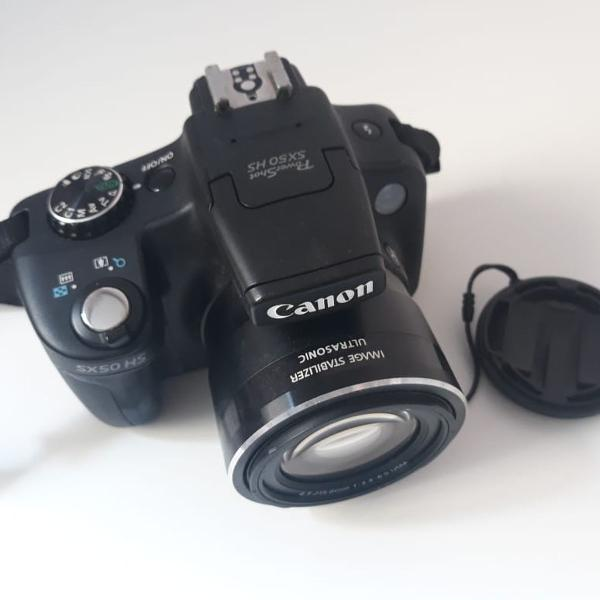 Câmera canon powershot sx50 hs