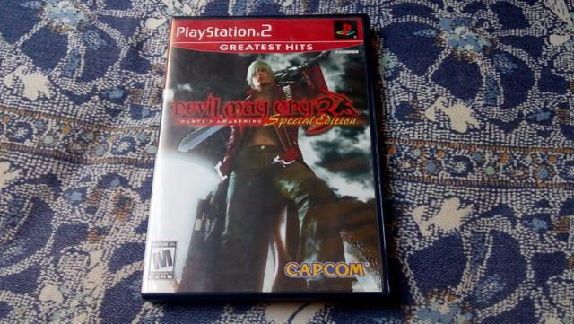 Devil may cry 3 special edition ps2 original completo