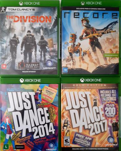 Jogo (jogos) xbox one the division, recore, just dance 2014