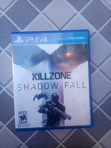 Jogo mídia física ps4 killzone shadow fall