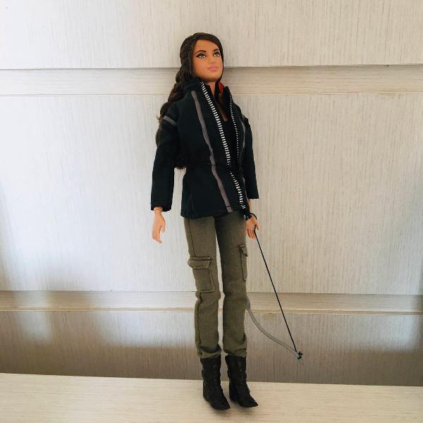 Katniss everdeen boneca barbie colecionador jogos vorazes