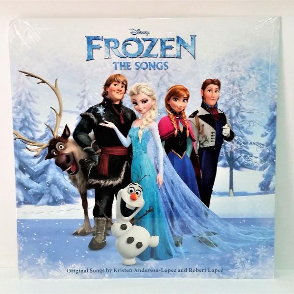 Lp disney frozen the songs original soundtrack importado
