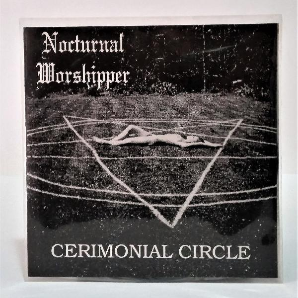 "Lp nocturnal worshipper cerimonial circle ep 7"""