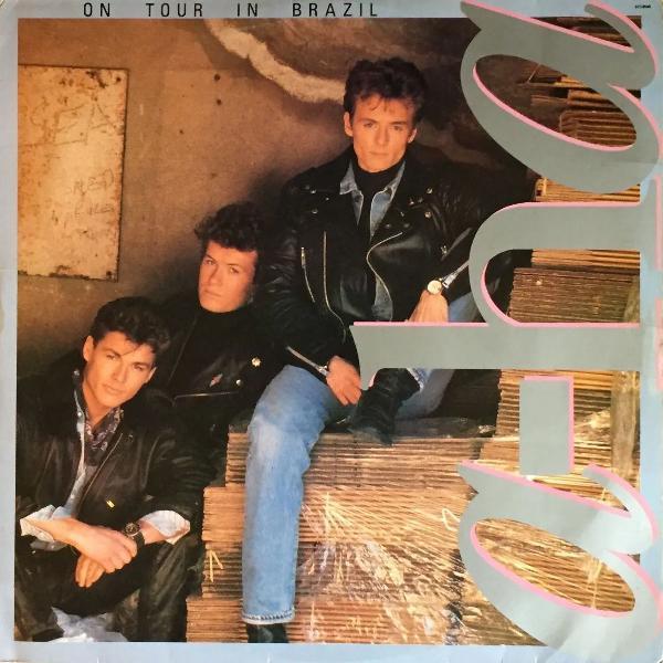 Lp disco vinil - a-ha - on tour in brazil - 1989