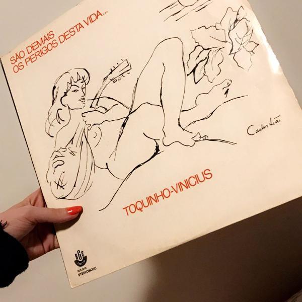 Lp vinyl vinicius de moraes