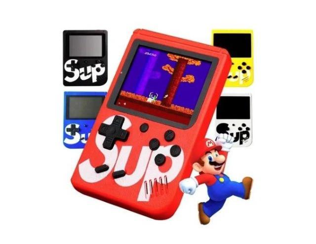 Mini game jogos antigos retrô portatil nitendo 400 jogos