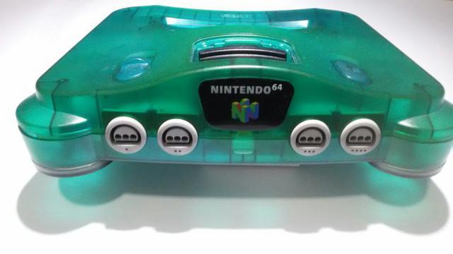 Nintendo 64 sabores - anil