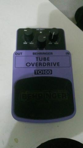 Pedal behringer tube overdrive