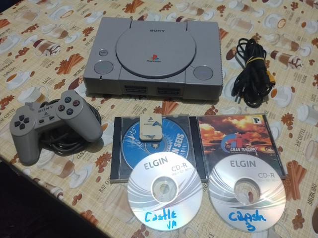 Playstation 1 fat zerado