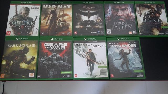 Vendo jogos em mídia física xbox one em ótimo estado