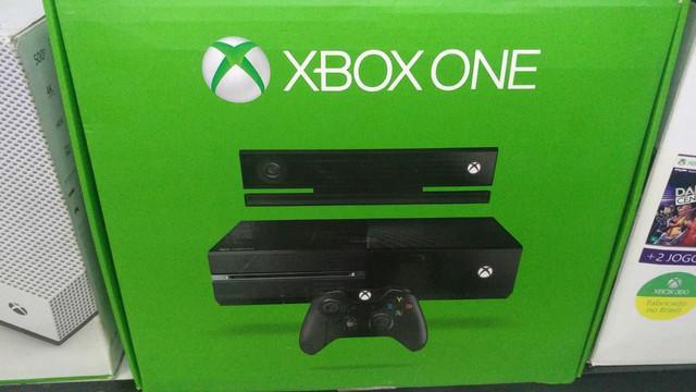 Xbox one fat sem kinect!