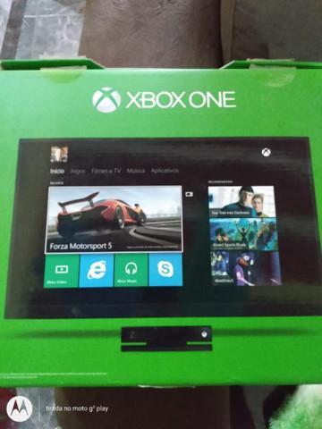 Xbox one novo na caixa completo