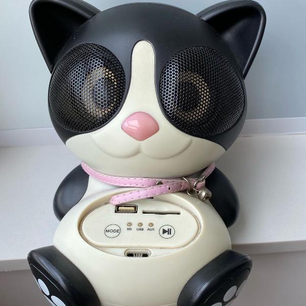 Caixinha/amplificador de som de gatinho da imaginarium