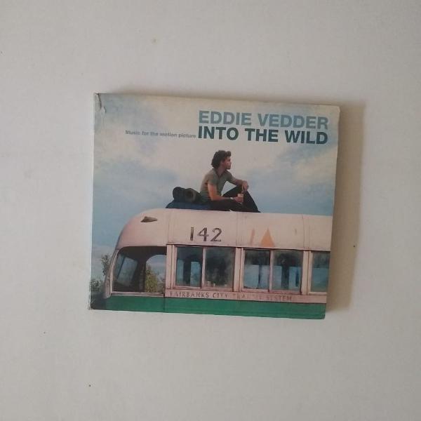 Cd raro - eddie vedder, into the wild (na natureza selvagem)