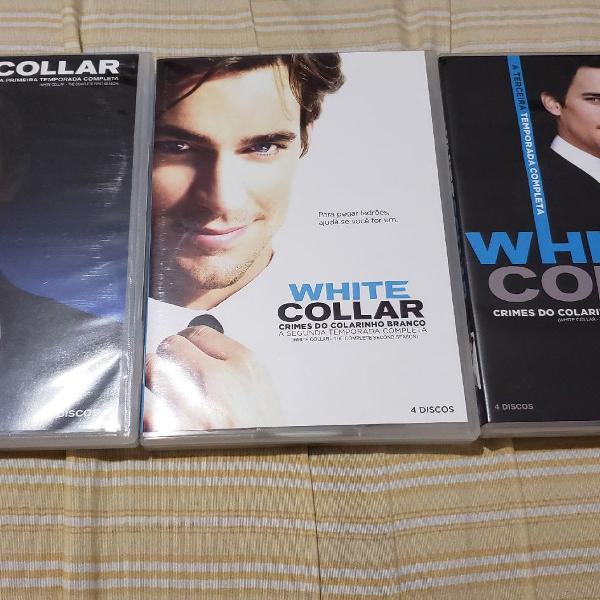 Série white collar 1, 2 e 3 temporadas