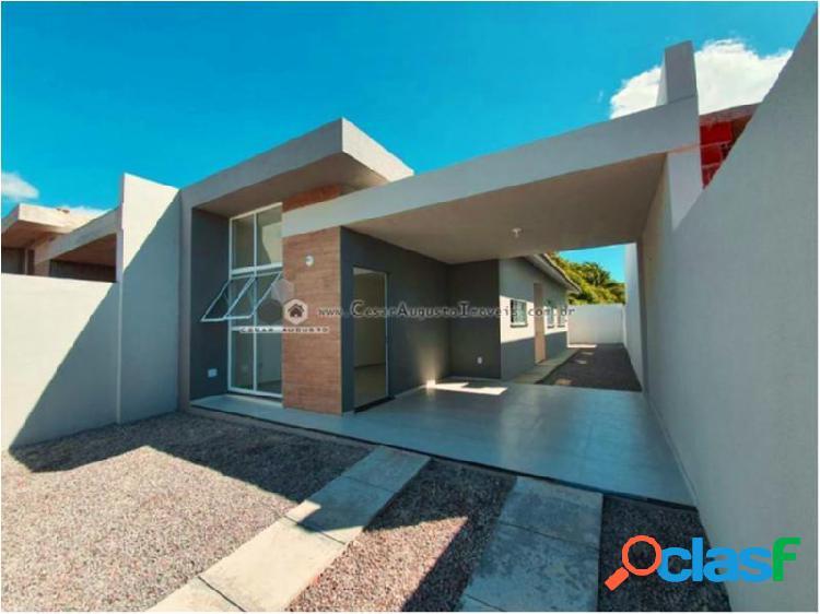 Casas domus - casa com 2 dorms em eusébio - parque havai por 189.000,00 à venda