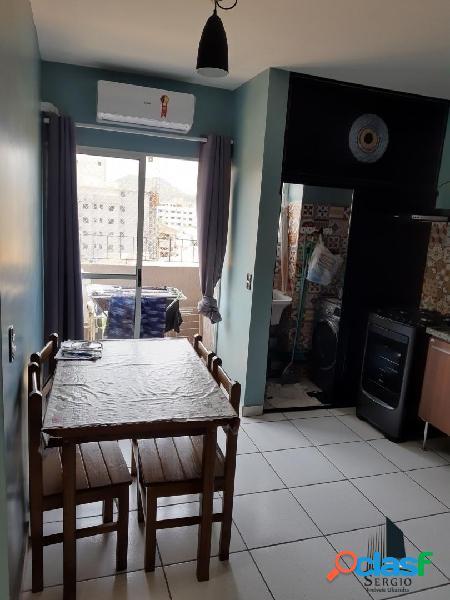 Apartamento novo mobiliado 2 dorms centro