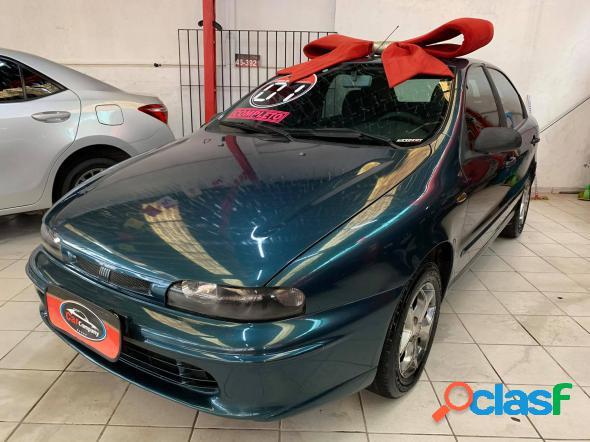 Fiat brava sx 1.6 16v 4p azul 2001 1.6 gasolina