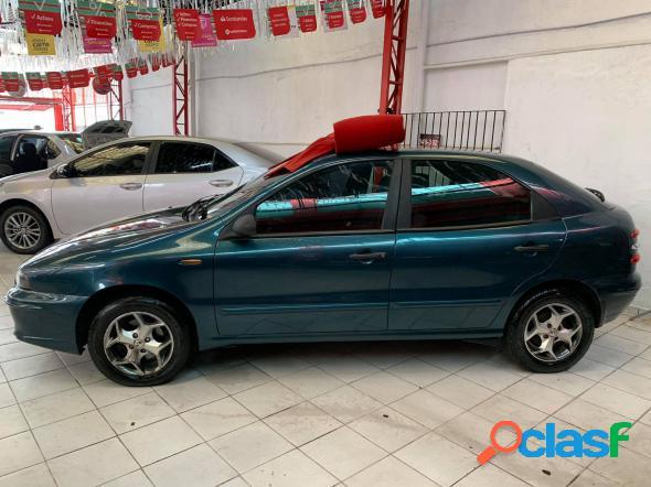 FIAT BRAVA SX 1.6 16V 4P AZUL 2001 1.6 GASOLINA 1