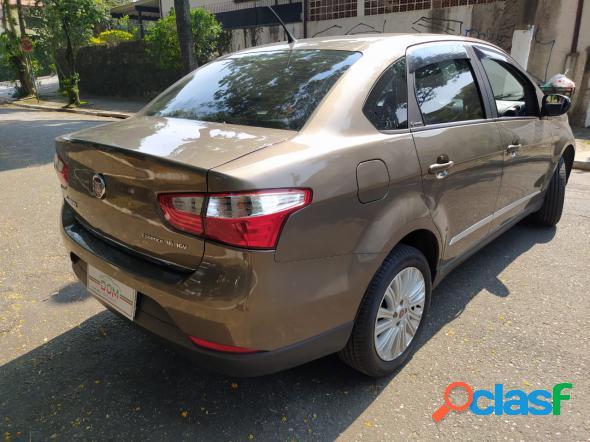 Fiat grand siena essence 1.6 flex 16v cinza 2016 1.6 flex