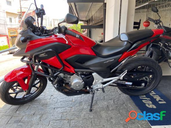 Honda nc 700 abs vermelho 2013 700 gasolina