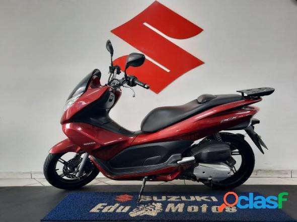 Honda pcx 150 vermelho 2014 150 gasolina