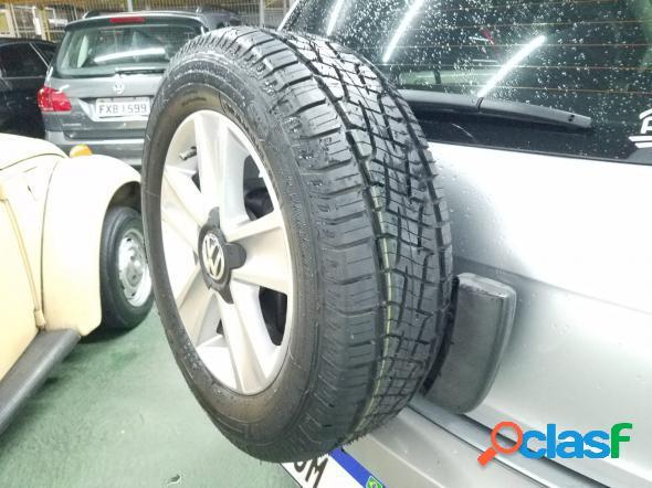 Volkswagen crossfox 1.6 mi total flex 8v 5p prata 2011 1.6 flex