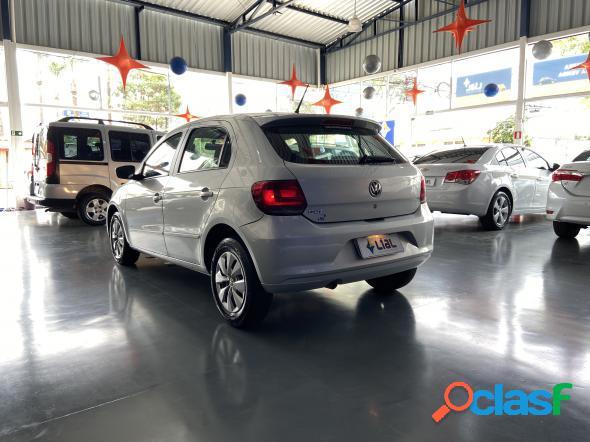 Volkswagen gol city (trend) 1.0 mi total flex 8v 2p prata 2014 1.0 flex