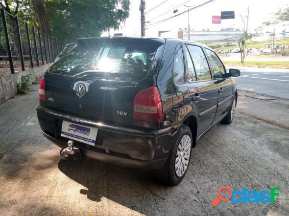 Volkswagen gol 1.0 plus 8v 4p preto 2003 1.0 gasolina