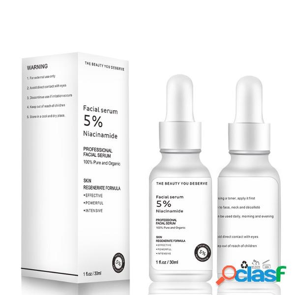 10% niacinamid pore minimizer sérum hidratante ácido hialurônico sérum face care essence 30 ml