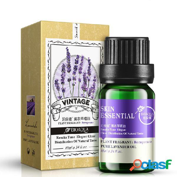 Bioaqua lavender rose essential oil face cuidados com a pele liquid anti wrinkle anti aging controle de óleo 10ml